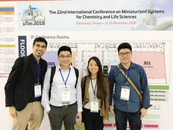 Our group at MicroTAS 2018, Kaohsiung, Taiwan