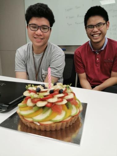 Chayakorn's and Shengyuan's birthday! (2019)