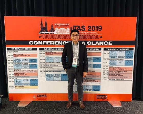 Han Wei at Microtas 2019, Basel, Switzerland